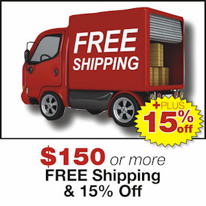 Free Shipping Plus 15% Off MANN-FILTER Orders of $150 or more